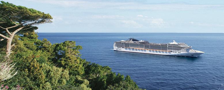 MSC Divina ile Cruise Gemi Turu