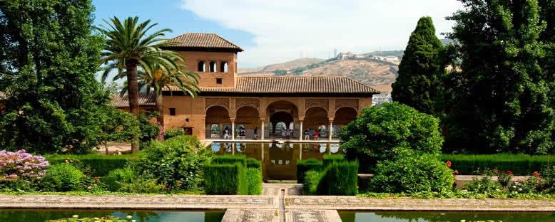 Elhamra Saray Bahçeleri - Granada