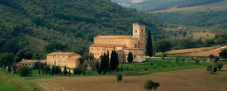 Eski Kiliseler - Toskana