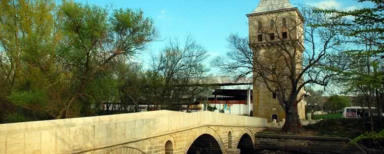 Fatih Köprüsü ve Adalet Kasrı - Edirne