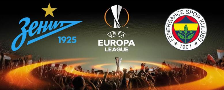 FC Zenit - Fenerbahçe Avrupa Ligi Maçı