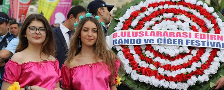 Festival Geçidi - Edirne Bando ve Ciğer Festivali