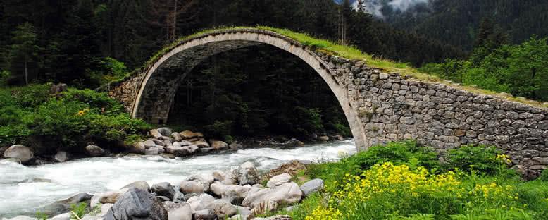 Fırtına Deresi ve Köprü - Rize