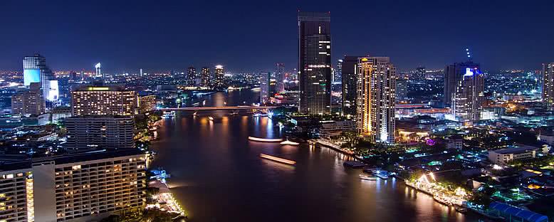 Gece Manzarası - Bangkok