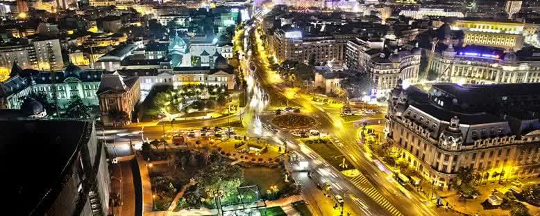 Gece Manzarası - Bükreş