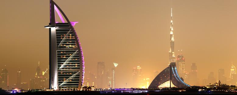 Gece Manzarası - Dubai
