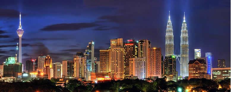 Gece Manzarası - Kuala Lumpur