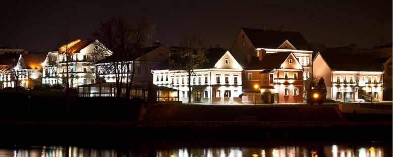Gece Manzarası - Minsk