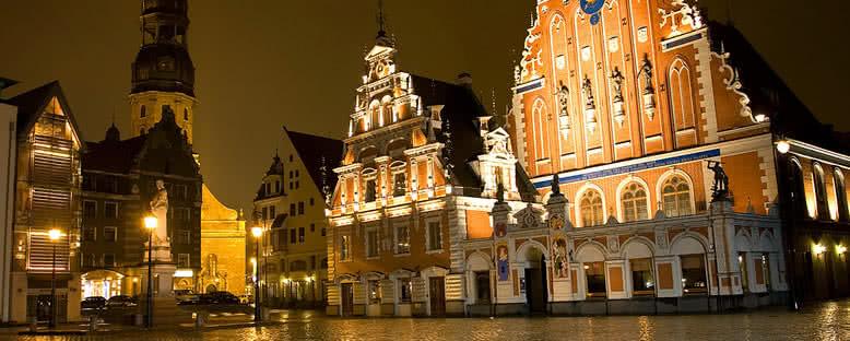 Gece Manzarası - Riga