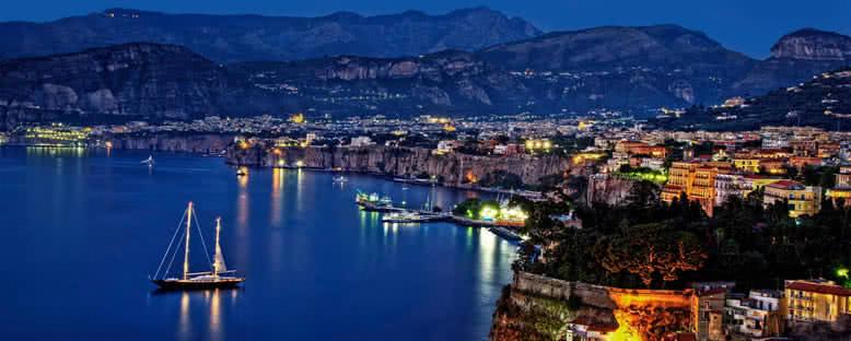 Gece Manzarası - Sorrento