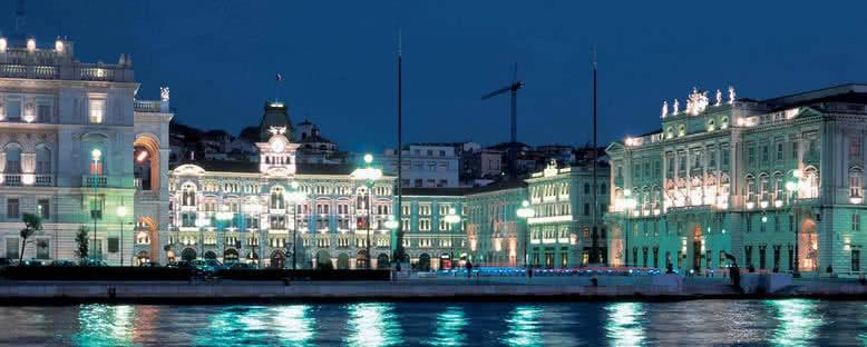 Gece Manzarası - Trieste