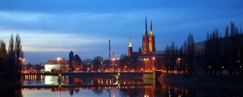 Gece Manzarası - Wroclaw