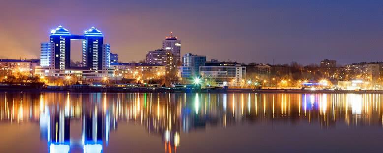 Gece Manzarası - Zaporijya