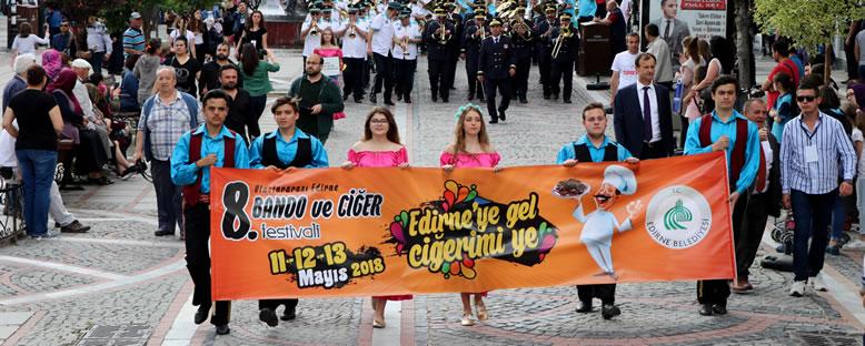 Geçit Törenleri - Edirne Bando ve Ciğer Festivali