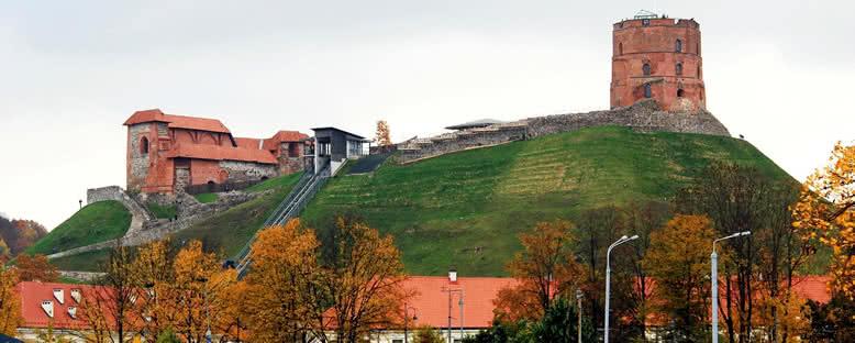 Gediminas Kulesi Manzarası - Vilnius