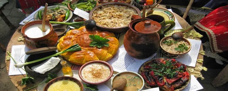 Geleneksel Bulgar Yemekleri - Plovdiv