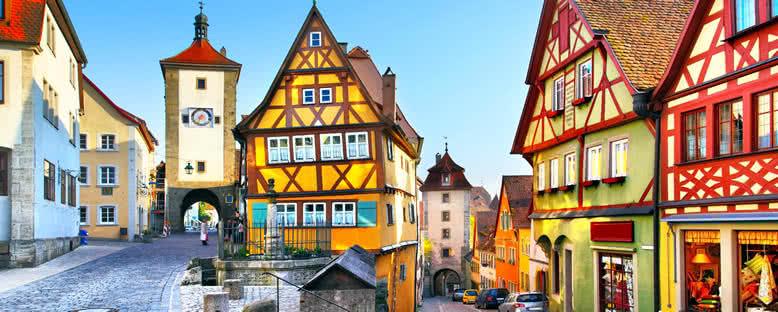 Geleneksel Evler - Rothenburg