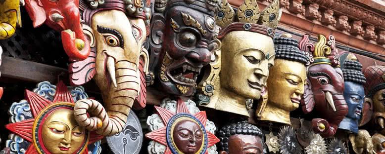 Geleneksel Maskeler - Katmandu