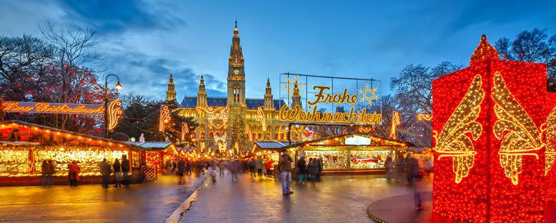 Geleneksel Noel Pazarı - Viyana
