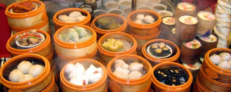 Gelenksel Dim Sum Sepetleri - Şangay