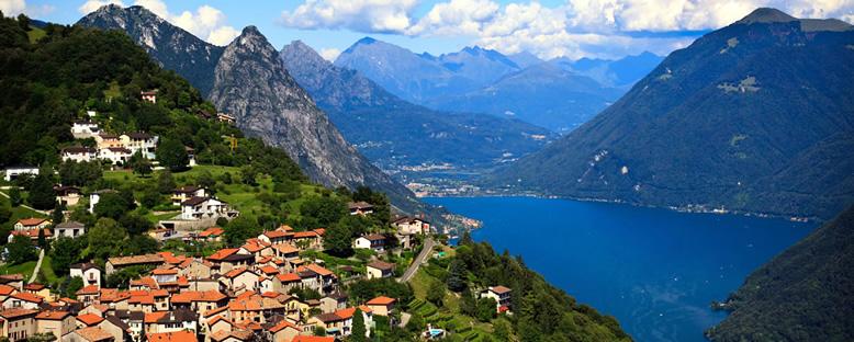 Göl Manzarası - Lugano