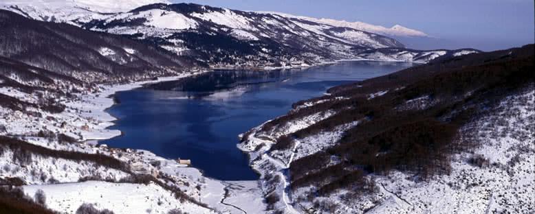 Göl Manzarası - Mavrovo