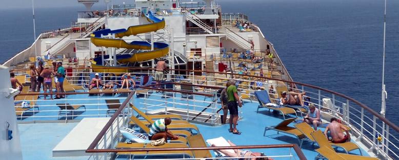 Güneşlenme Güverteleri - Costa Fortuna