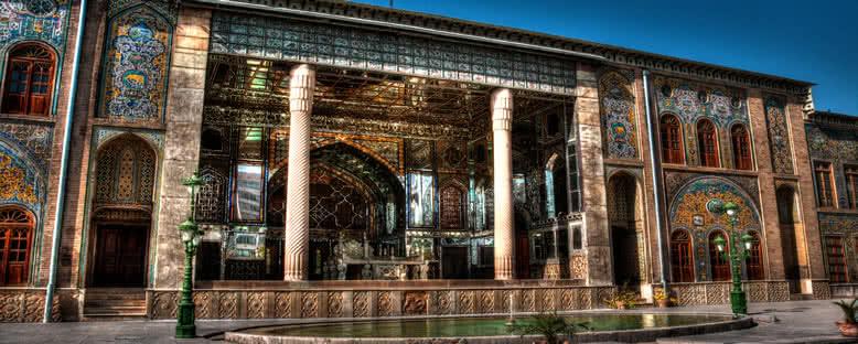 Gülistan Sarayı Girişi - Tahran