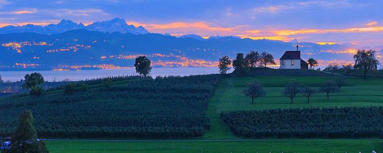 Gün Batımı - Bodensee