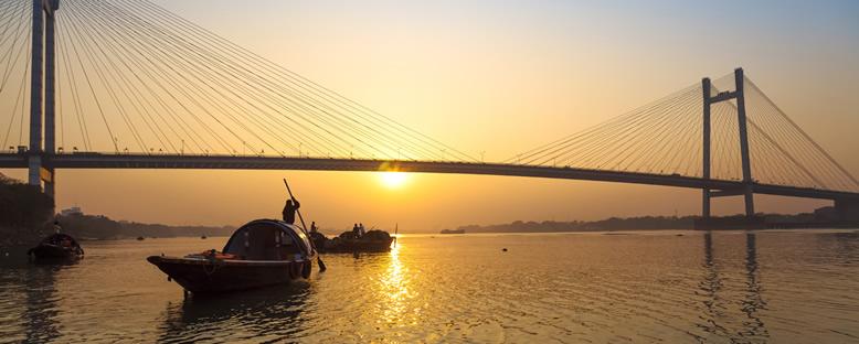 Gün Batımı - Ganj Nehri