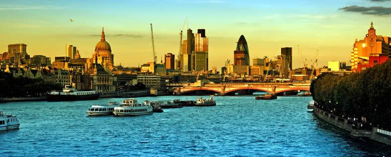 Gün Batımı Manzarası - Londra