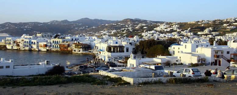 Gün Batımı - Mykonos
