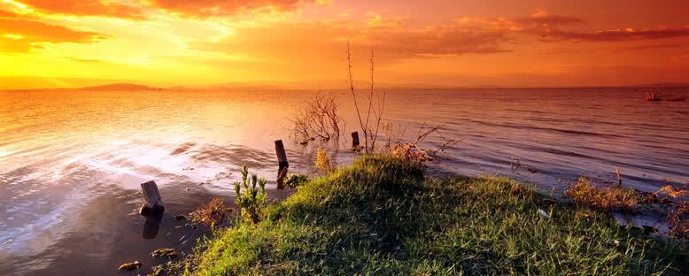 Gün Batımı - Naivasha Gölü