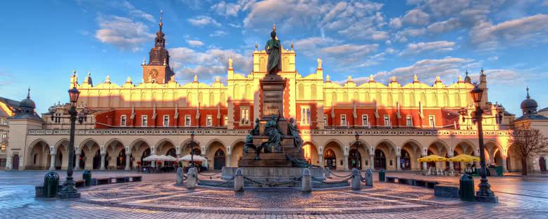 Gün Doğumunda Kent Merkezi - Krakow
