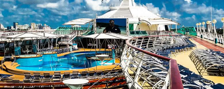Güneşlenme Terası - Vision of the Seas