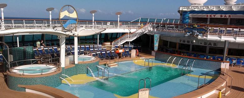 Güneşlenme Terasları - Serenade of the Seas