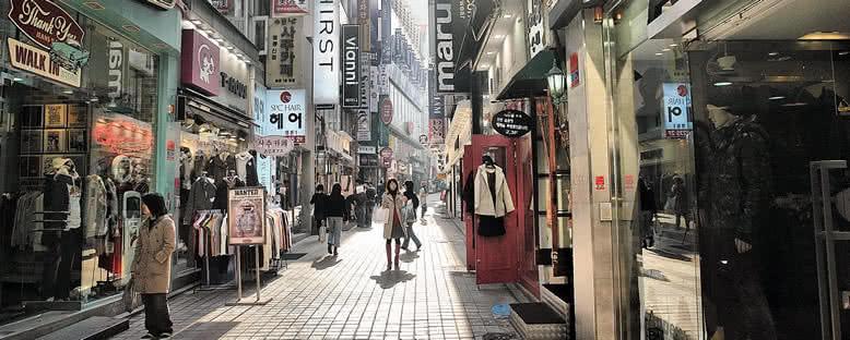 Alışveriş Sokakları - Seul