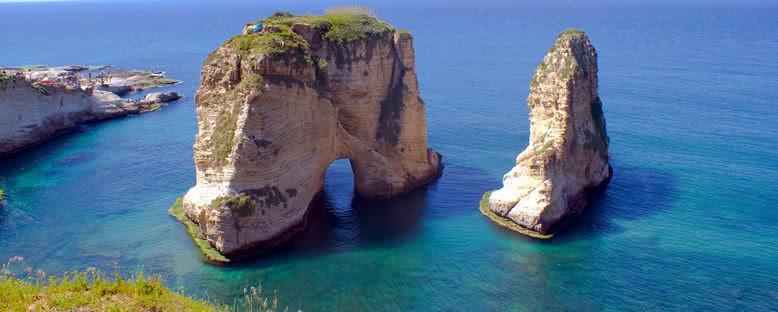 Güvercin Kayalıkları - Beyrut