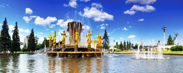 Halkların Dostluğu Çeşmesi - Moskova