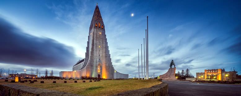 Hallgrimskirkja Kilisesi - Reykjavik