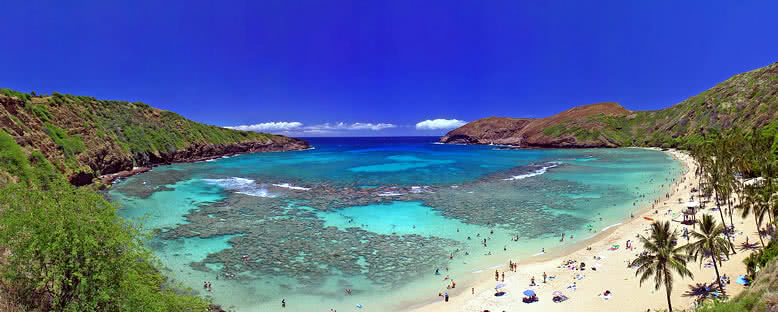 Hanauma Körfezi - Hawaii