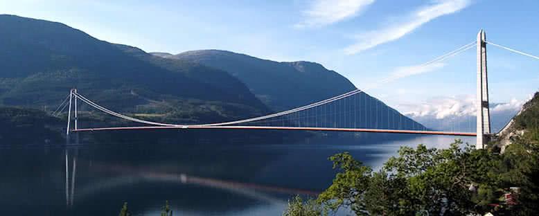 Hardanger Köprüsü - Norveç