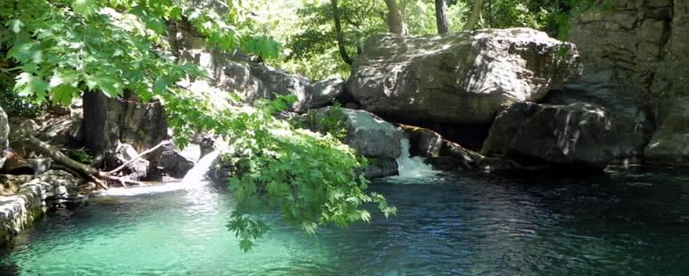 Hasanboguldu Göleti - Kazdağları