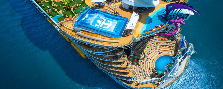 Havuz Bölümü - Symphony of the Seas