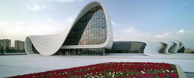 Haydar Aliyev Kültür Merkezi - Bakü