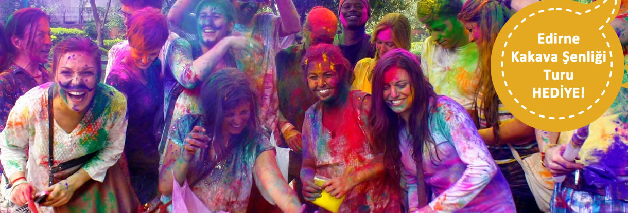 Hindistan Holi Festivali