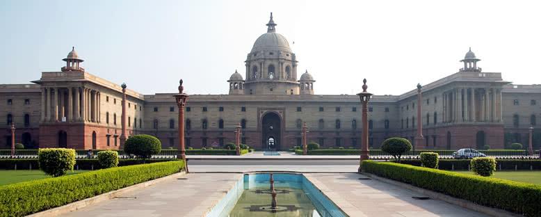 Hükümet Binası - Delhi