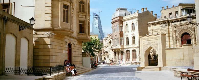 İçeri Şehir Sokakları - Bakü
