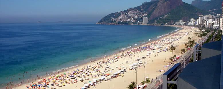 İpanema Plajı - Rio de Janeiro