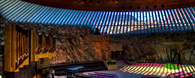 Temppeliaukio Kilisesi - Helsinki